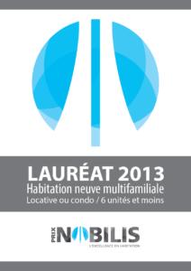 Nobilis 2015 - Multifamiliale 6 unités et moins-Lauréat